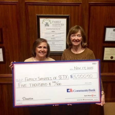 Thank you CommunityBank of Texas!